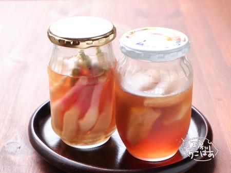 酢漬けの生姜たち