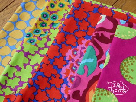 ケイフファセットの新柄ほか の布地